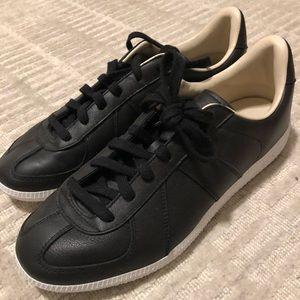 Adidas BW Army Premium Black Leather Trainers
